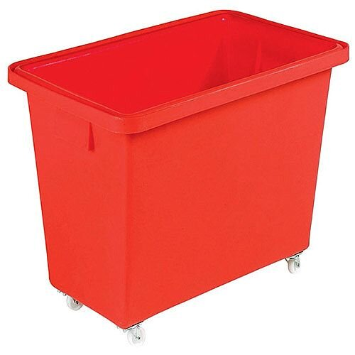 Mobile Nesting Container 150 Litre Red 328229