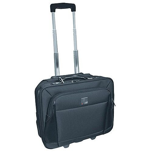 Monolith Motion Wheeled Laptop Case Black 3005