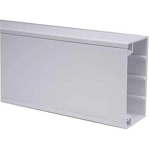 Marco 100 x 50mm Dado Trunking 3m lgth - White