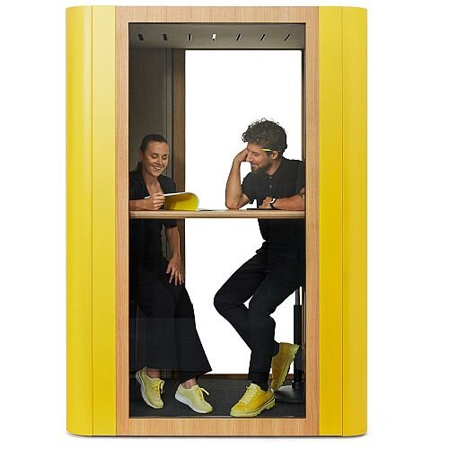 Space M 2 Person Acoustic Meeting Booth