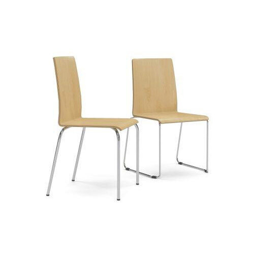 Narbutas MOON WOOD Visitors &Meeting Room Chairs