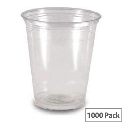 MyCafe Disposable Water Plastic Cups 7oz/200ml Clear [Pack of 1000] RY0146