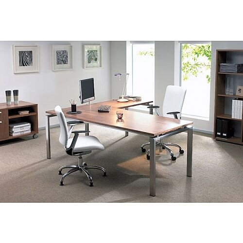 Oblique Intuition Executive Desking System