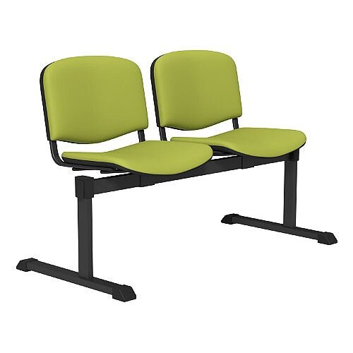 OI Series 2-Seater Bench With Vinyl Upholstered Seat Green L051