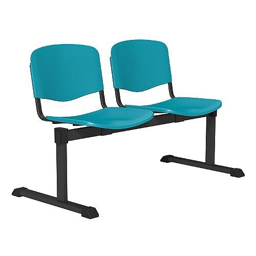 OI Series 2-Seater Bench Plastic Seat Sea Green