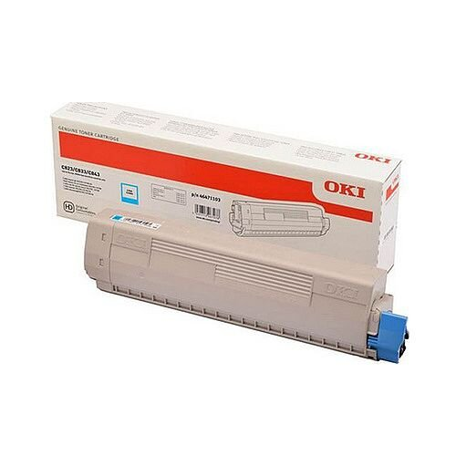Oki 47095703 Original Cyan Toner Cartridge