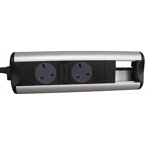 CR Ozone D2 Power Sockets 3 Data Outlets 50 x 25mm OZONE23