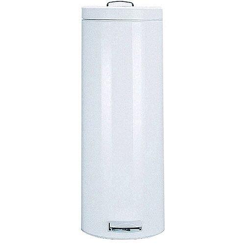 Pedal Waste Bin 20 Litre 640x250mm White 311730