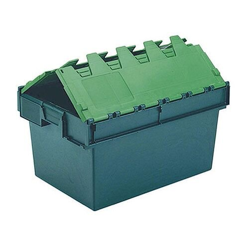 Plastic Container/Lid Green 64 Litre 306598