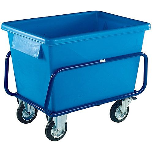 Plastic Container Truck 1040x700x860mm Blue 326054