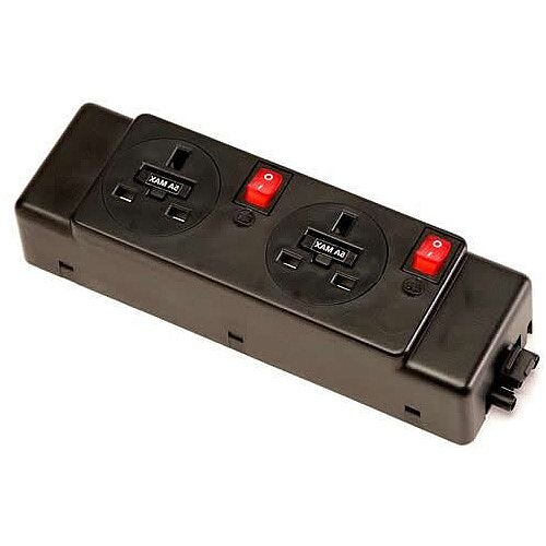 Algar Unde2 Way Modular Power Unit 2 Switches PMK225-E