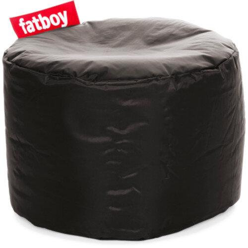 The Point Bean Bag Pouf Stool 35x50cm Black Suitable for Indoor Use - Fatboy The Original Bean Bag Range