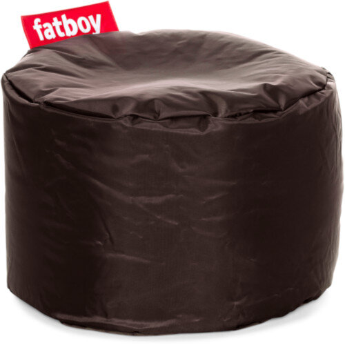 The Point Bean Bag Pouf Stool 35x50cm Brown Suitable for Indoor Use - Fatboy The Original Bean Bag Range
