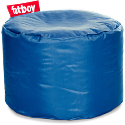 The Point Bean Bag Pouf Stool 35x50cm Petrol Suitable for Indoor Use - Fatboy The Original Bean Bag Range