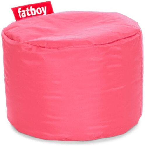 The Point Bean Bag Pouf Stool 35x50cm Light Pink Suitable for Indoor Use - Fatboy The Original Bean Bag Range