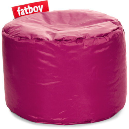 The Point Bean Bag Pouf Stool 35x50cm Pink Suitable for Indoor Use - Fatboy The Original Bean Bag Range