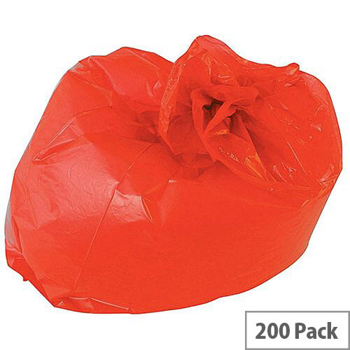 2Work Polymax Refuse Sacks 100L Colour Coded Pack 200
