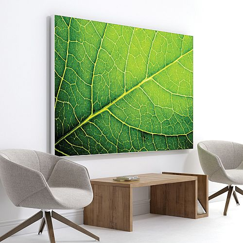 Print Customisable Acoustic Wall Panel with Standard Silver Aluminium Frame