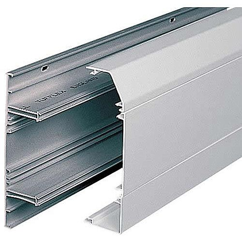 3 Compartment Dado Trunking 3m lgth - White