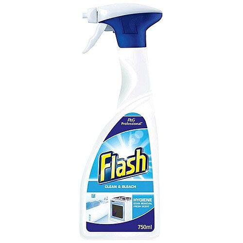 Flash Clean and Bleach Spray Cleaner 750ml 5413149888999
