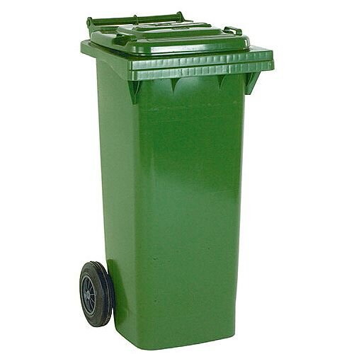 Wheelie Bin 140 Litre 2-Wheel Green