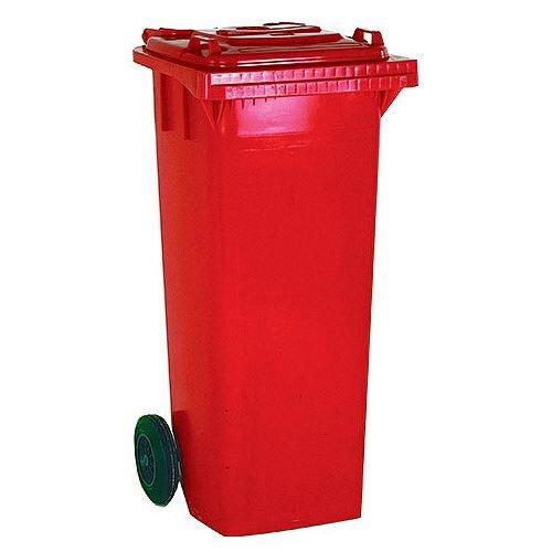 Wheelie Bin 240 Litre 2-Wheel Red 124526