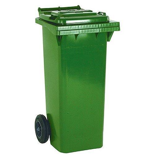 Wheelie Bin 80 Litre 2-Wheel Green 124517