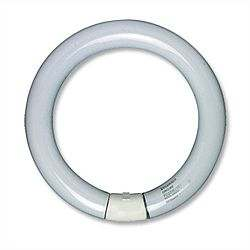 how to change circular fluorescent light tube