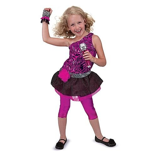 Rock Star Kids Costume 3-6 Years