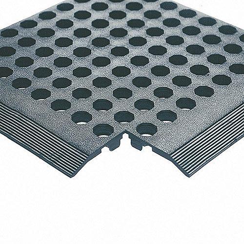 Rubber Worksafe Mat Black 312475