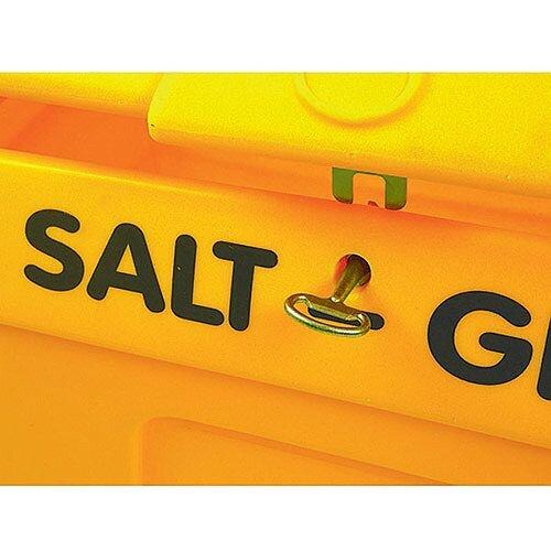 Yellow Lockable Salt and Grit Bin Yellow 200 Litre 317063