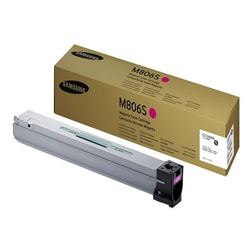 Samsung CLT-M806S Laser Toner Cartridge Page Life 30000pp Magenta Ref SS635A