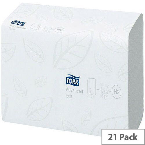 Tork Xpress Soft Multifold Hand Paper Towel 180 Towels Per Sleeve 21 Sleeves White (3780 Sheets) 120289