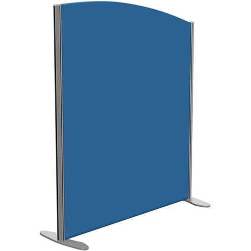 Sprint Eco Freestanding Privacy Acoustic Screen Curved Top W1000xH1200-1000mm Blue - With Stabilising Feet