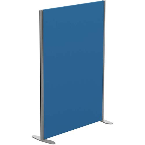 Sprint Eco Freestanding Privacy Acoustic Screen Straight Top W1000xH1400mm Blue - With Stabilising Feet