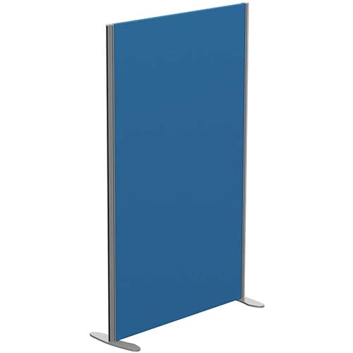 Sprint Eco Freestanding Privacy Acoustic Screen Straight Top W1000xH1600mm Blue - With Stabilising Feet