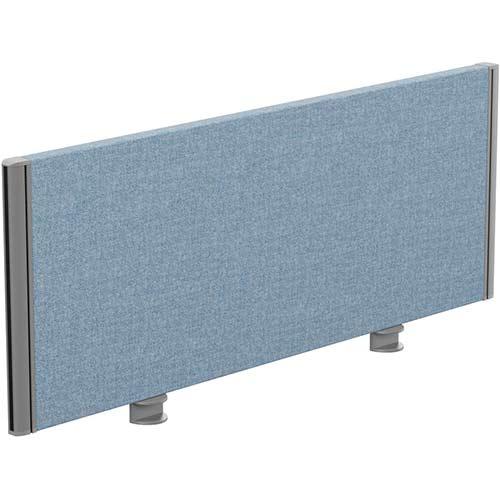 Sprint Eco Office Desk Screen Straight Top W1000xH380mm Light Blue
