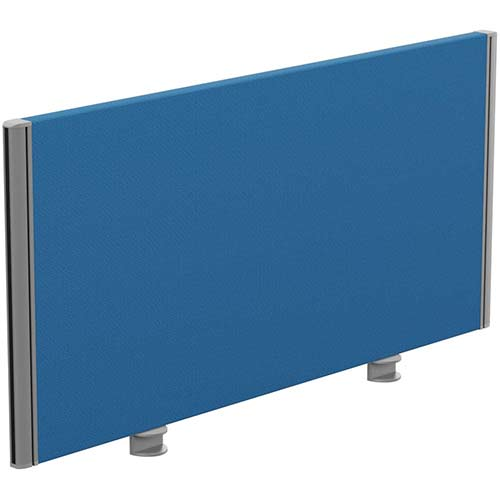 Sprint Eco Office Desk Screen Straight Top W1000xH480mm Blue