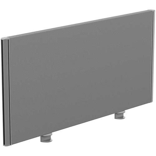 Sprint Eco Office Desk Screen Straight Top W1000xH480mm Grey