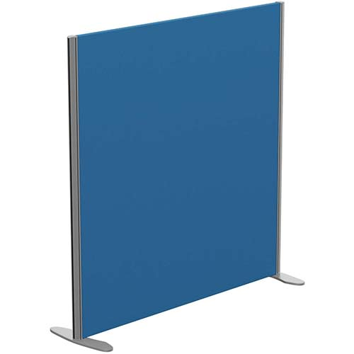 Sprint Eco Freestanding Privacy Acoustic Screen Straight Top W1200xH1200mm Blue - With Stabilising Feet