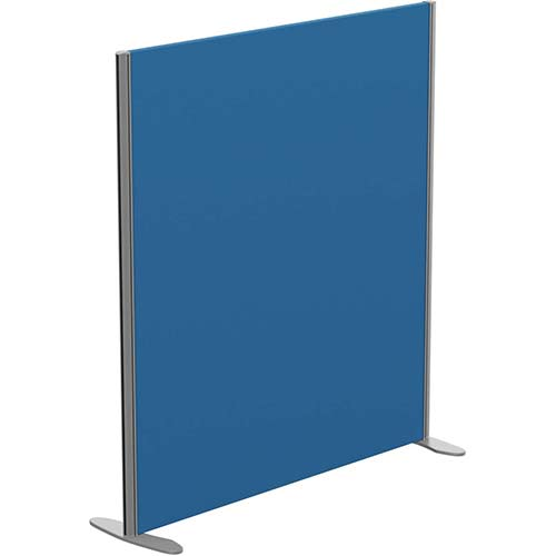 Sprint Eco Freestanding Privacy Acoustic Screen Straight Top W1200xH1300mm Blue - With Stabilising Feet