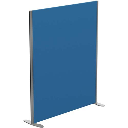 Sprint Eco Freestanding Privacy Acoustic Screen Straight Top W1200xH1400mm Blue - With Stabilising Feet