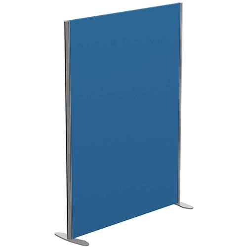 Sprint Eco Freestanding Privacy Acoustic Screen Straight Top W1200xH1600mm Blue - With Stabilising Feet