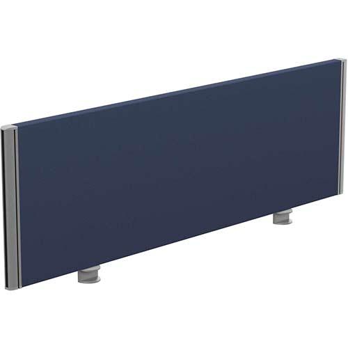 Sprint Eco Office Desk Screen Straight Top W1200xH380mm Dark Blue