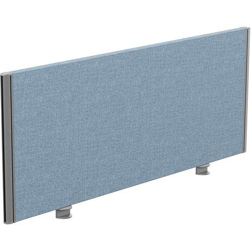 Sprint Eco Office Desk Screen Straight Top W1200xH480mm Light Blue