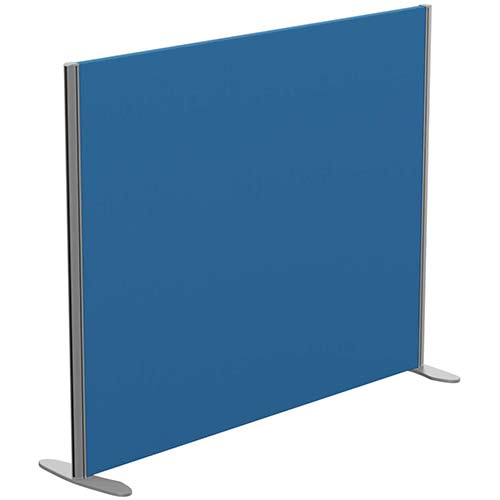 Sprint Eco Freestanding Privacy Acoustic Screen Straight Top W1400xH1100mm Blue - With Stabilising Feet