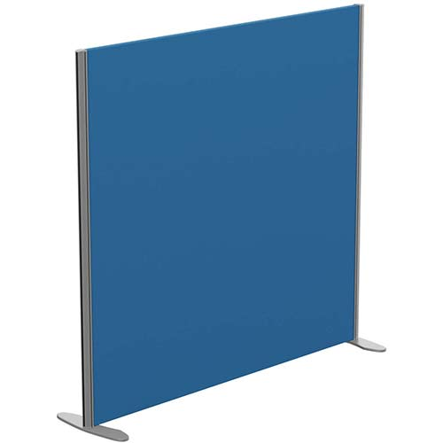 Sprint Eco Freestanding Privacy Acoustic Screen Straight Top W1400xH1300mm Blue - With Stabilising Feet