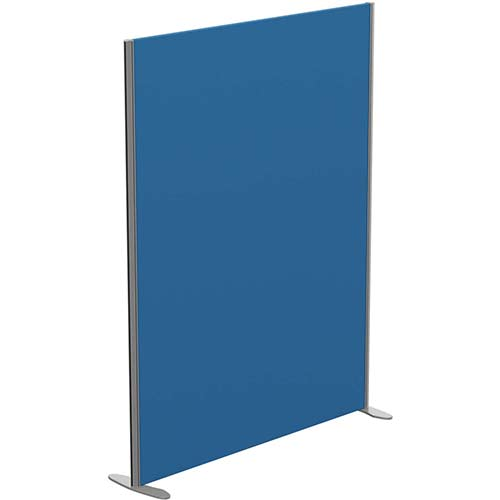 Sprint Eco Freestanding Privacy Acoustic Screen Straight Top W1400xH1800mm Blue - With Stabilising Feet