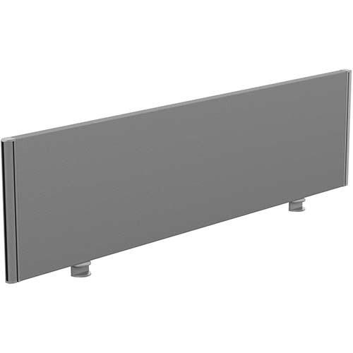 Sprint Eco Office Desk Screen Straight Top W1400xH380mm Grey