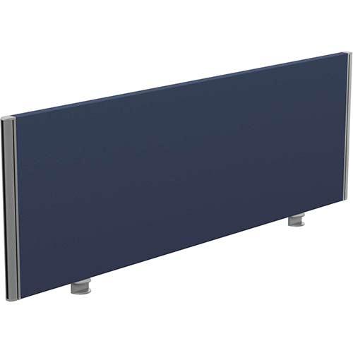 Sprint Eco Office Desk Screen Straight Top W1400xH480mm Dark Blue